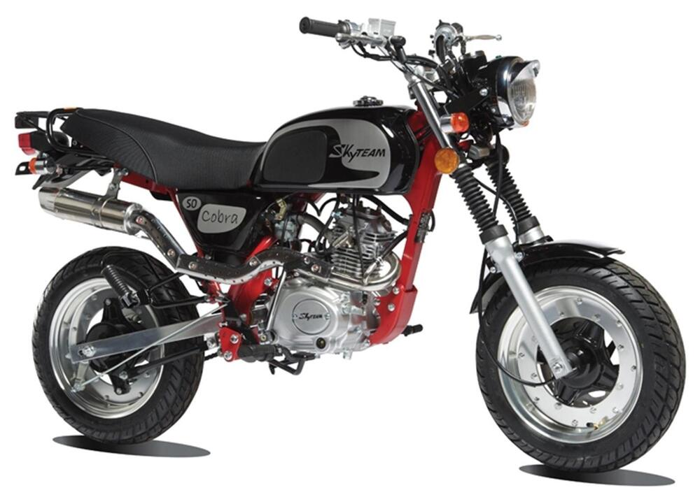 cobra 125 new monkey bike from skyteam 125cc ebay. Black Bedroom Furniture Sets. Home Design Ideas
