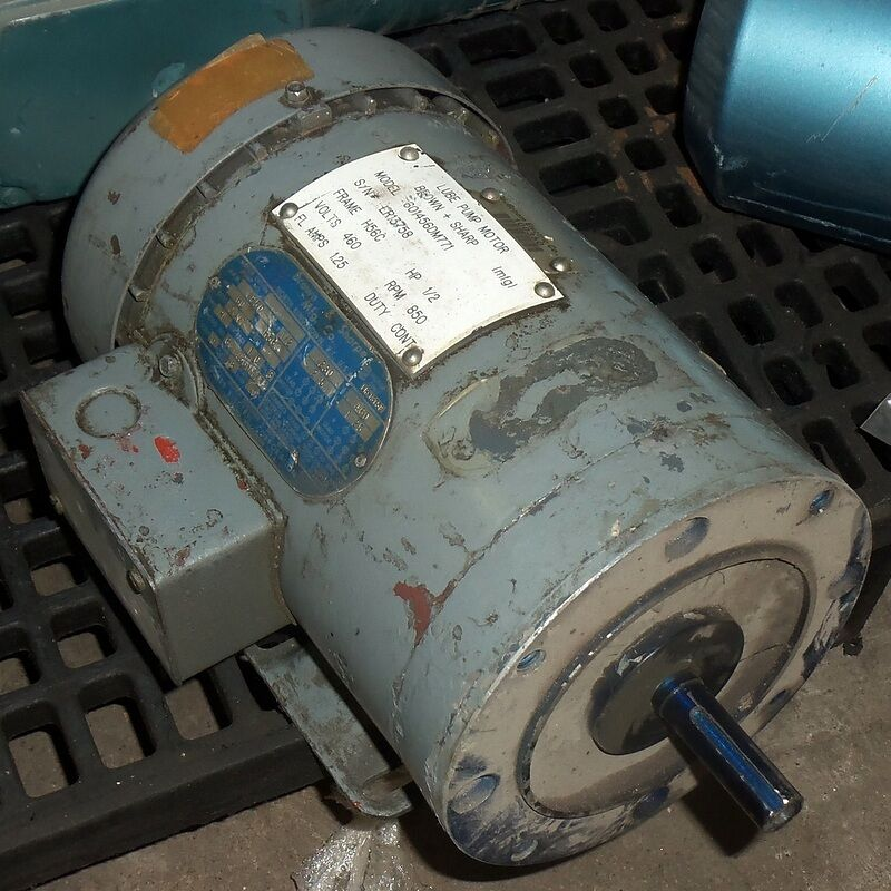 Doerr electric corporation 601456dm771 ac motor hp h56c Ac motor 1 hp