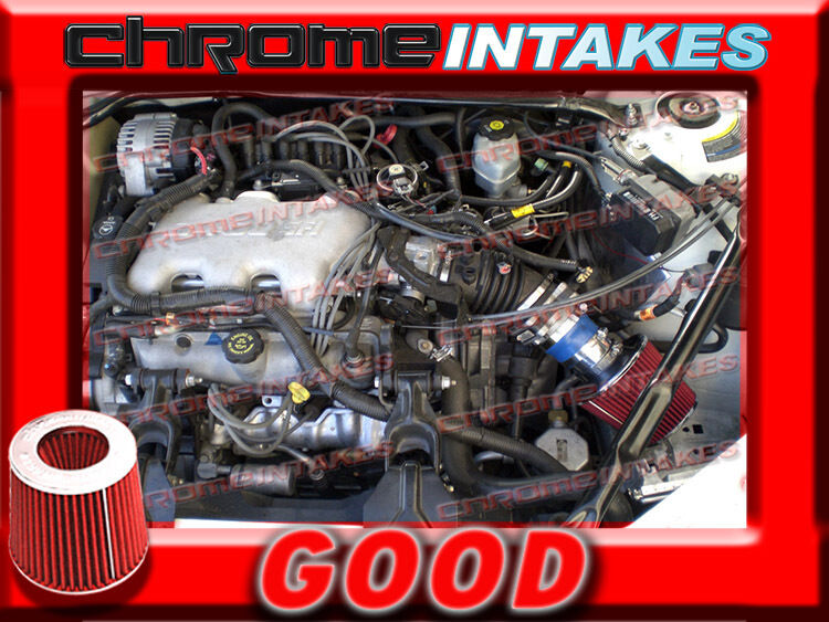 BLUE RED 2000 2001 2002-2005 CHEVY IMPALA/MONTE CARLO 3.4 ...