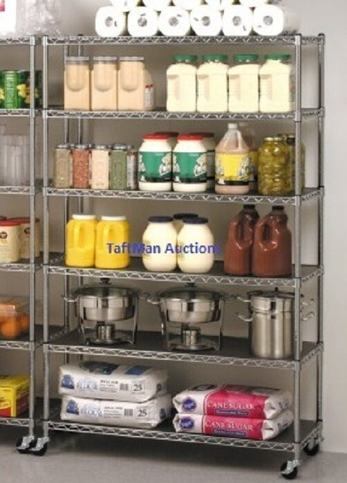 commercial kitchen storage seville industrial restaurant storage rack wire 2395
