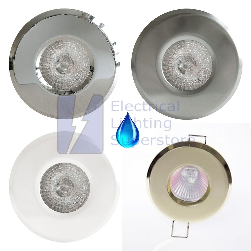 bathroom shower recessed downlight gu10 ip65 waterproof
