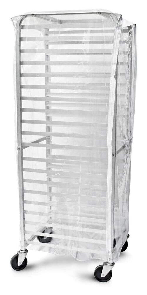 Clear Plastic Rack Cover For 20 Tier Sheet Bun Pan Rack