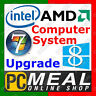 PCMeal Computer System OS Upgrade Windows 8.1 from Windows 7 Home Premium