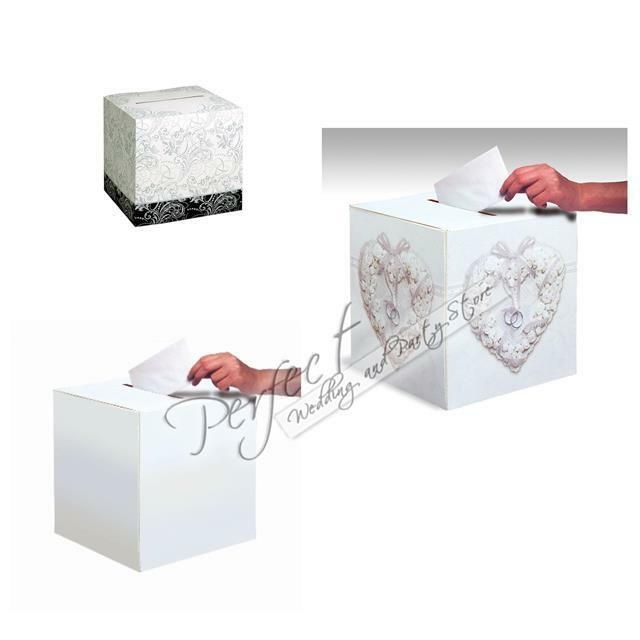 Wedding Card Receiving Wishing Well Square Post Box Table