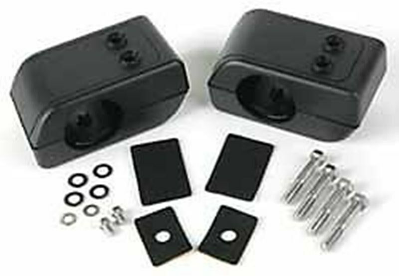 land rover lr3 05 09 brush bar fog lamp mounting kit. Black Bedroom Furniture Sets. Home Design Ideas