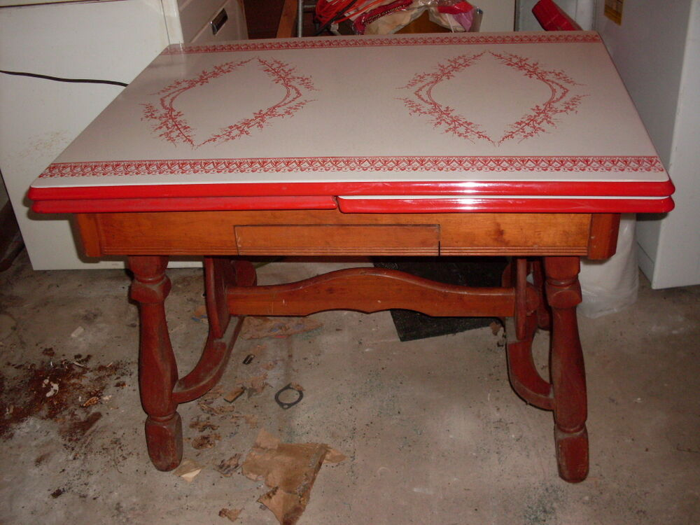 History Of Enamel Top Kitchen Tables