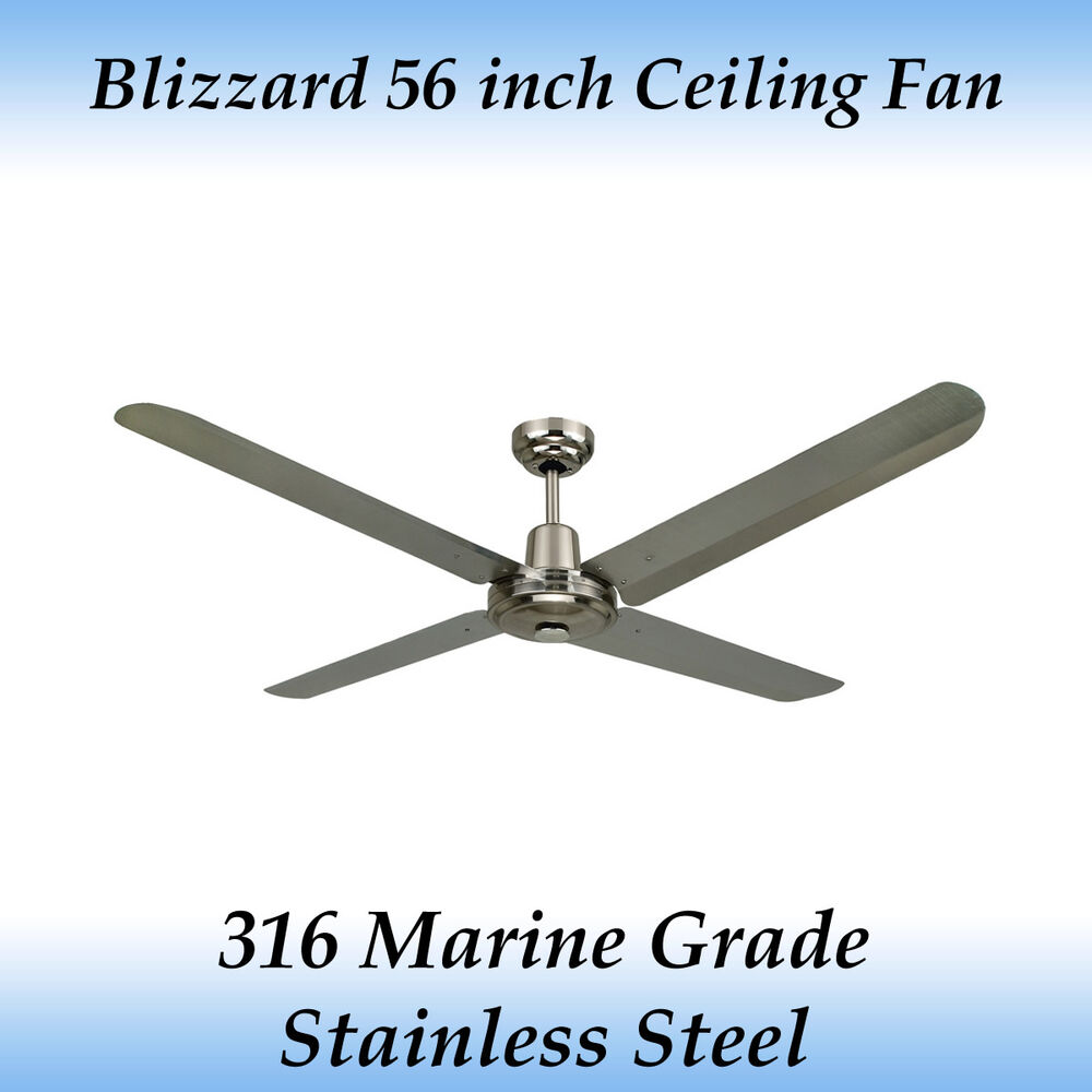 Blizzard 316 Marine Grade Stainless Steel 1400mm 56