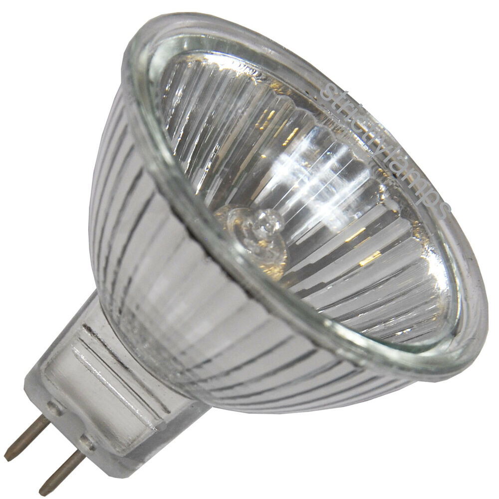 5 X Mr16 10w Halogen Light Bulbs 12v Delivered Ebay