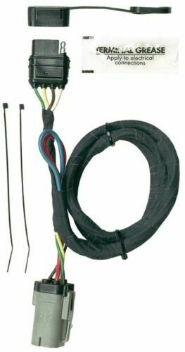 hoppy 40155 plug in simple trailer hitch wiring kit for 99