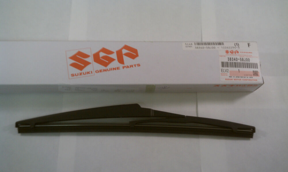 2009 2013 Suzuki Grand Vitara Rear Wiper Blade Genuine