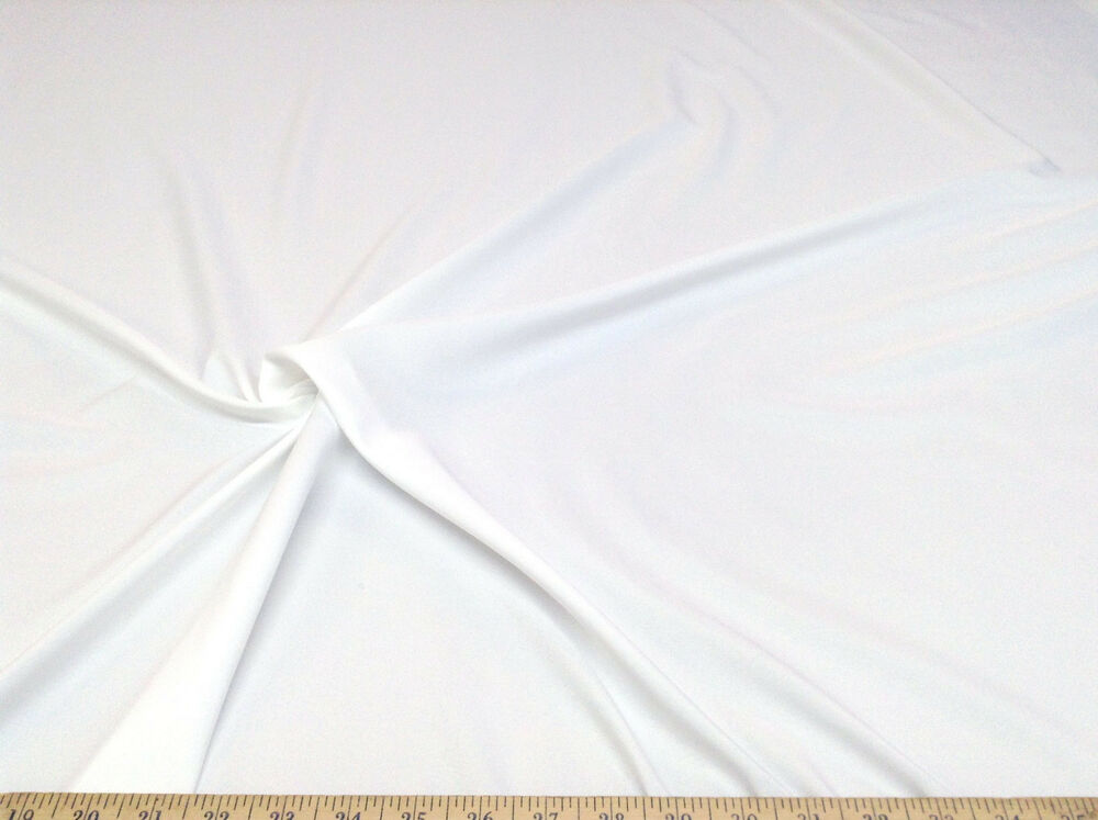 Discount fabric cotton blend white lining material 13cb ebay for Cheap fabric material