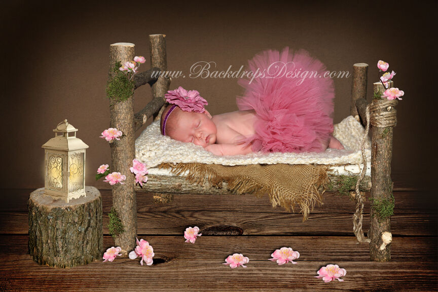 Baby Bed Photography Prop Uk