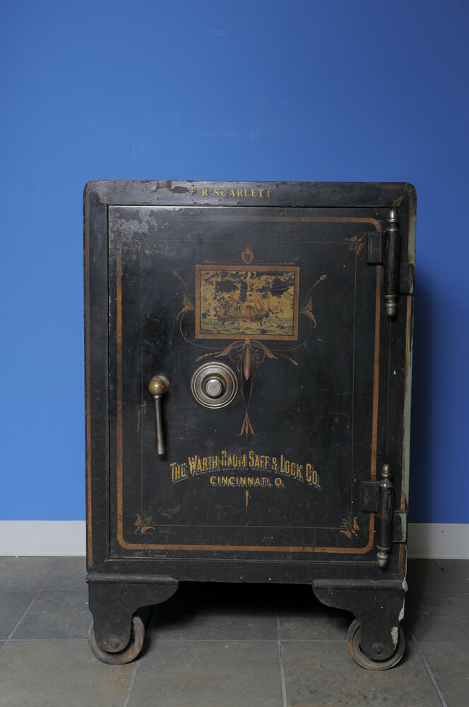 Rare Vintage Quot The Warth Baum Safe And Lock Company Quot Large