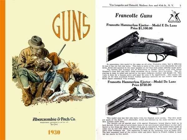 abercrombie fitch firearms sports 1930 catalog ebay. Black Bedroom Furniture Sets. Home Design Ideas