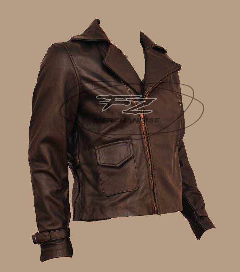 First leather motorcycle jacket