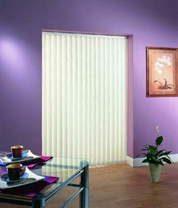 Made To Measure Rigid Pvc Vertical Blinds In Serino