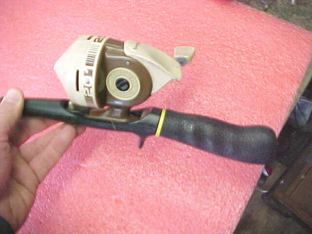 Bs1 vintage rare rare sportfisher fishing rod reel combo for Kmart fishing pole