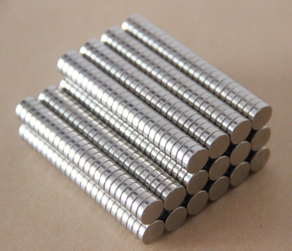 20pcs neodymium disc mini 10mm x 3mm rare earth n35 strong for Super strong magnets for crafts