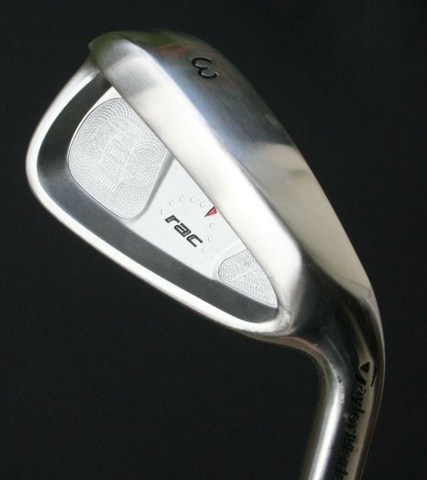 taylormade rac ht 3 iron vgc original steel shaft ebay. Black Bedroom Furniture Sets. Home Design Ideas