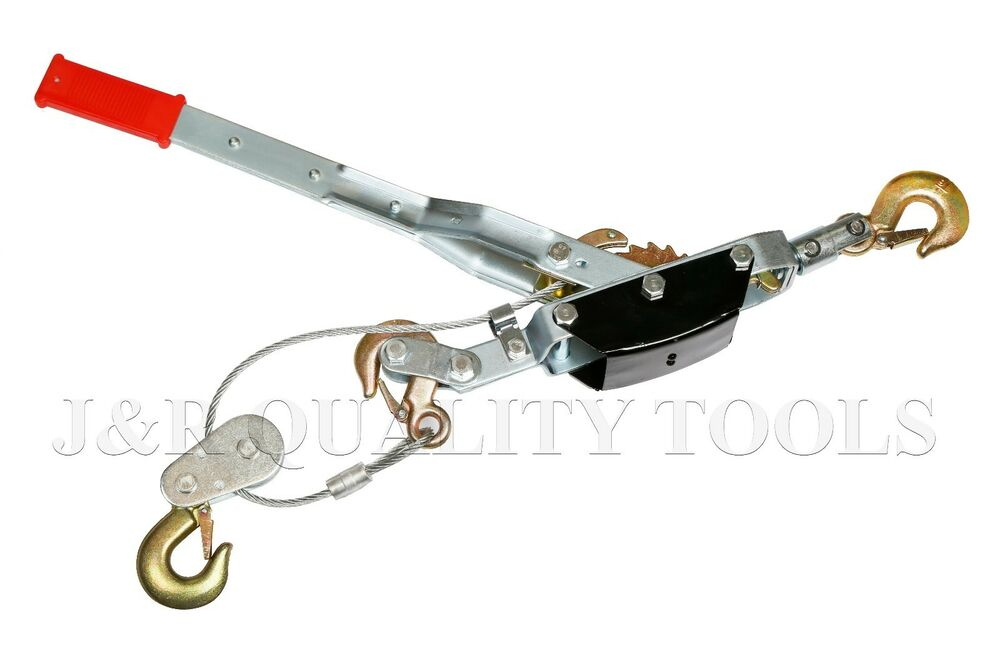 5 Ton Comealong Ratchet Hand Cable Winch Puller Come A