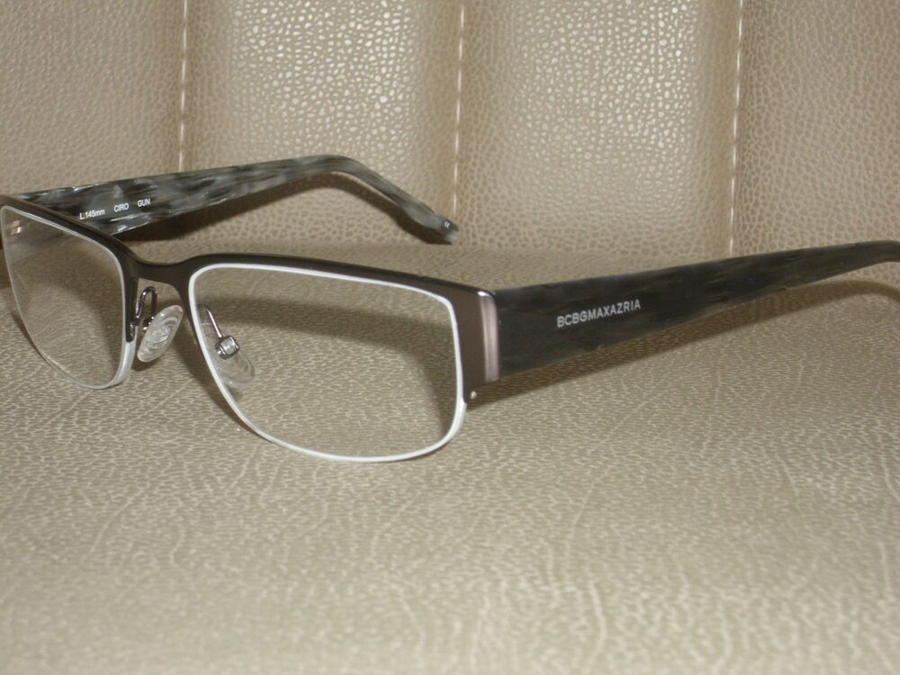 Bcbg Max Azria Eyeglass Frame Semi Rimless Made In