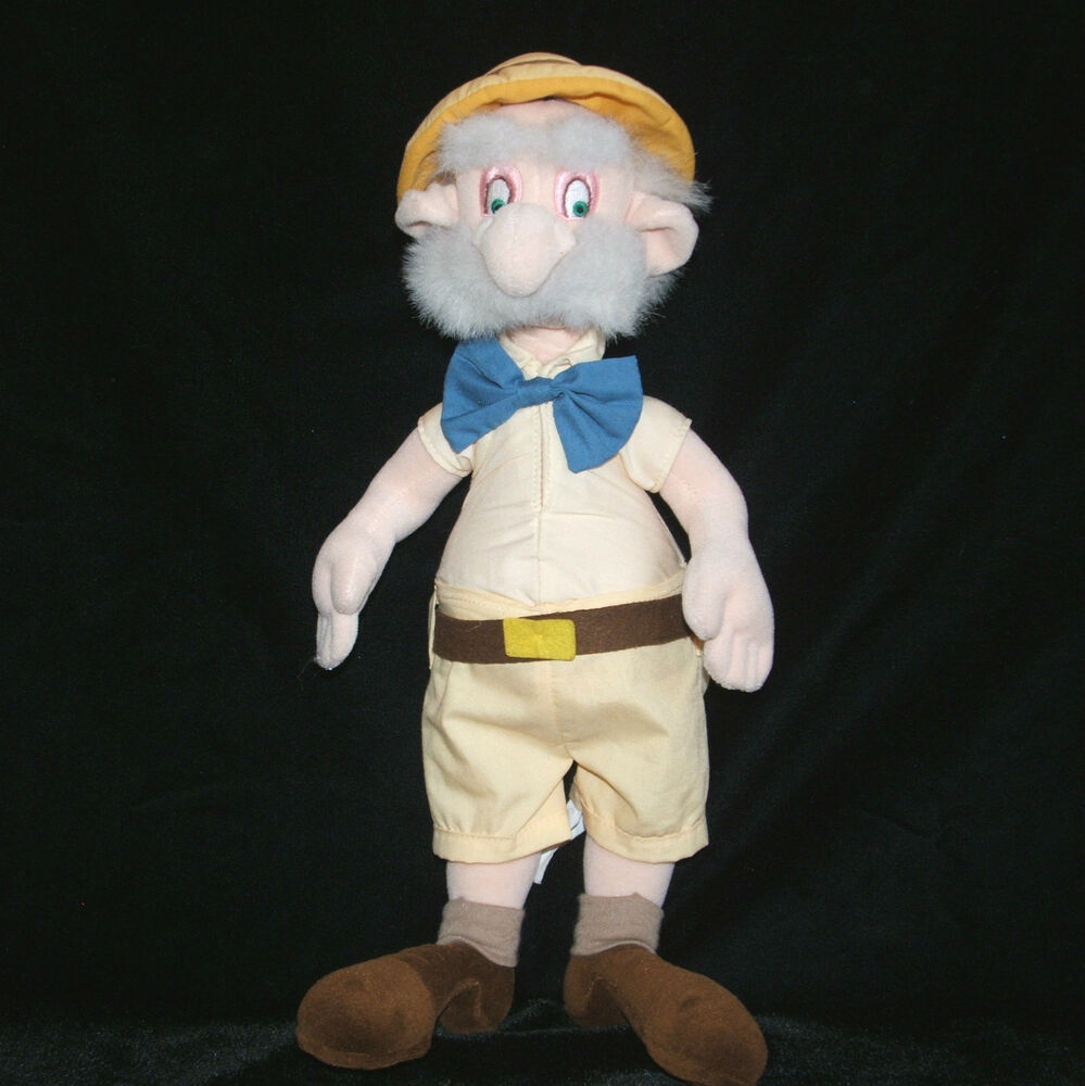 Tarzan 15 professor porter plush doll disney jane 39 s for Professor archimedes q porter
