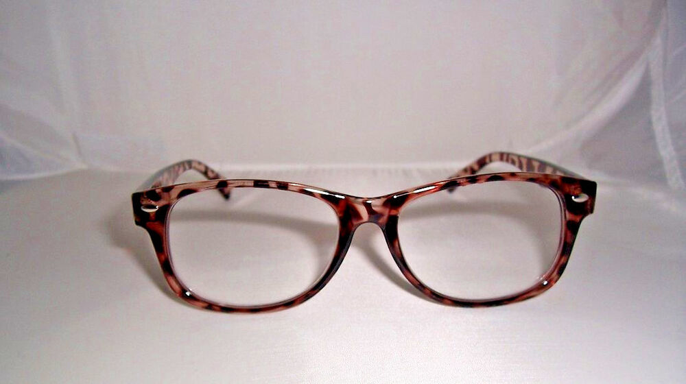 1 00 clear reading glasses 100 lens magnification ebay
