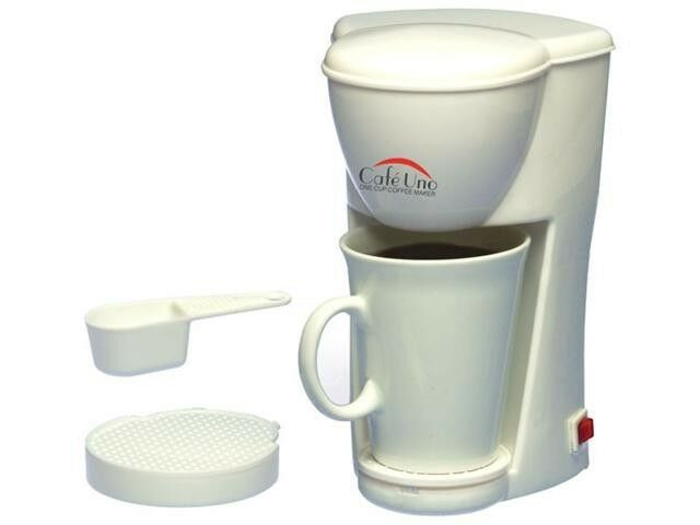 HOTEL STYLE TYPE SMALL SINGLE SERVE ONE CUP COFFEE MAKER MAKING MACHINE BREWER eBay