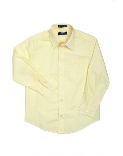New French Toast Boys Fine Yellow Button Down Long Sleeve