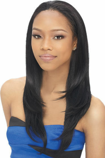 LIVIA - OUTRE QUICK WEAVE SYNTHETIC HALF WIG LONG STRAIGHT ...