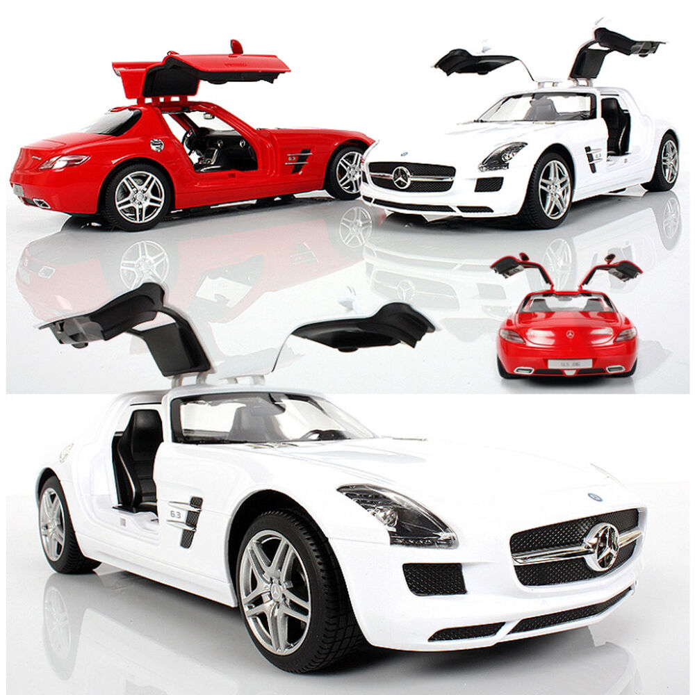 rastar rc mercedes benz sls amg 1 14 remote controlled sport car rtr ebay. Black Bedroom Furniture Sets. Home Design Ideas