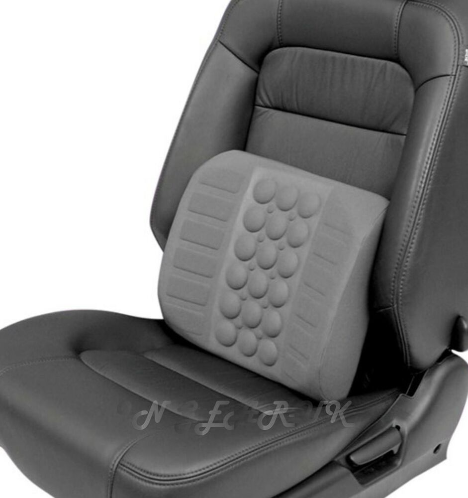 Car Van Seat Lumbar Lumber Back Support Cushion ERGONOMIC Office Chair Pad Lo