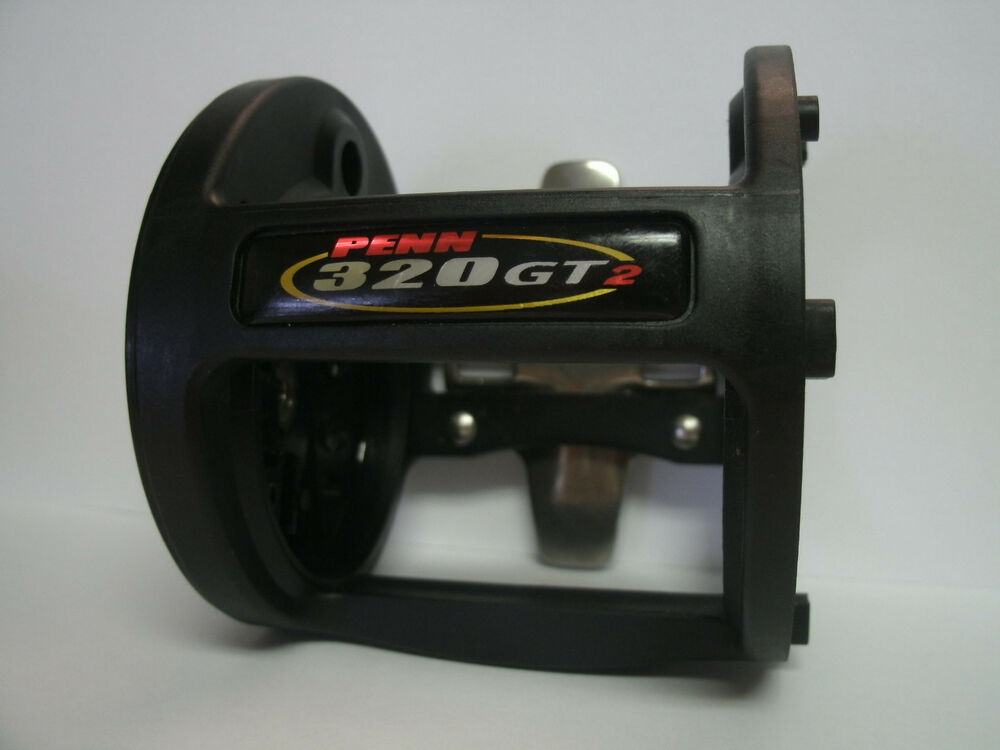 Used penn conventional reel part 320 gt2 frame for Penn fishing reel parts