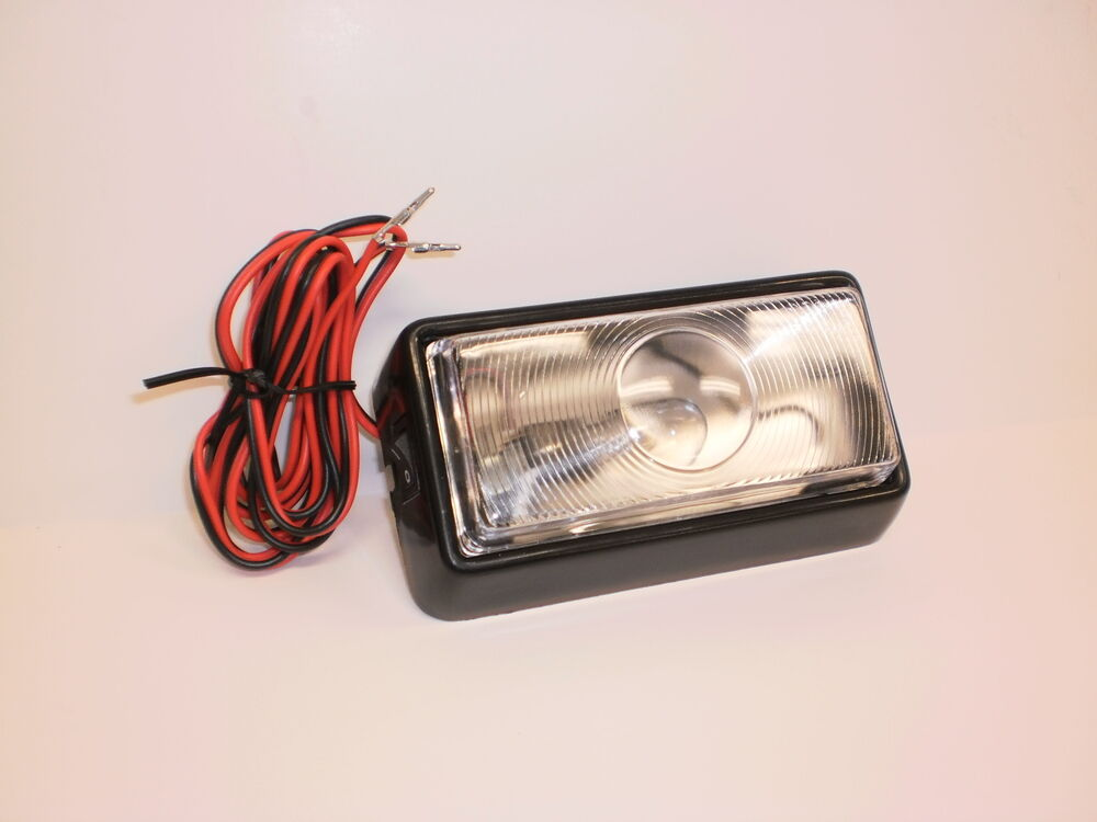 12 Volt Interior Dome Light With Switch Incandescent Rv