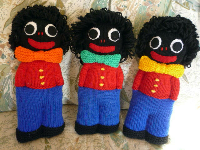 Knitting Patterns Easy Toys : KNITTING PATTERN TOY / DOLL - GOLLIWOG DOLL 8ply, Simple # 25 eBay