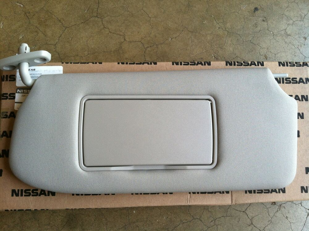 New Oem Nissan Sentra 2010 2012 Drivers Sunvisor With