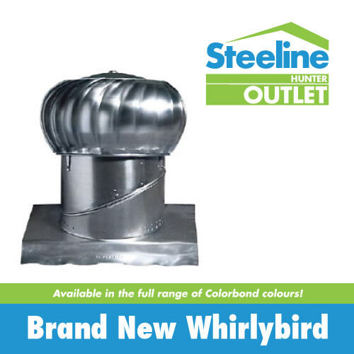 Brand New Colorbond Whirlybirds