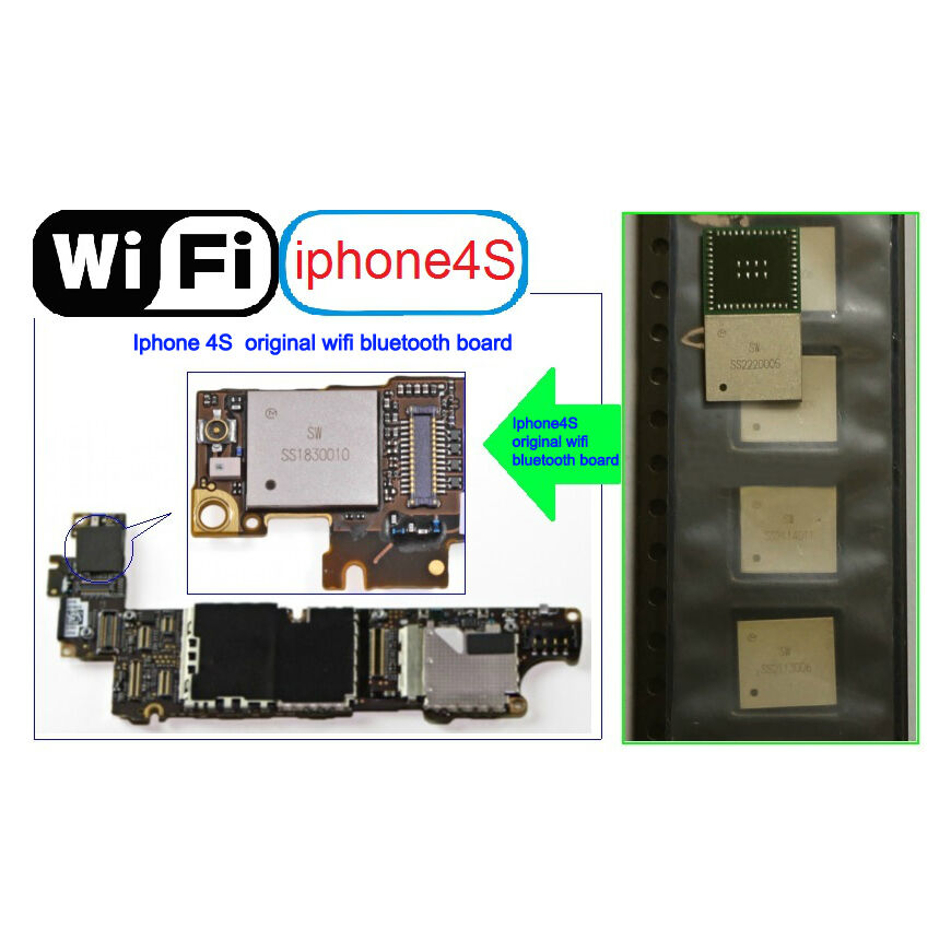 genuine for iphone 4s wifi ic bga chip repair faulty wifi for logic board new ebay. Black Bedroom Furniture Sets. Home Design Ideas