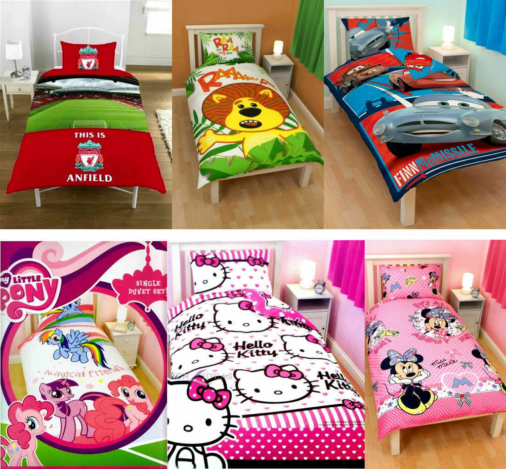 Kids Characters & Brands | Single | Double | Bed Quilt ...