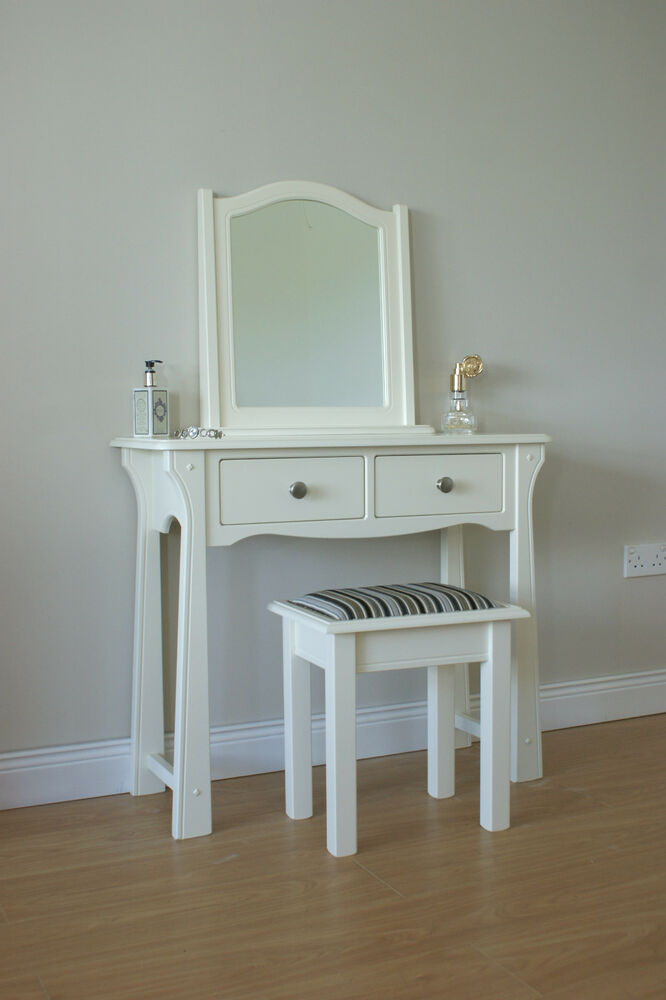 dressing table vanity table dresser make up table dressing table set ebay. Black Bedroom Furniture Sets. Home Design Ideas
