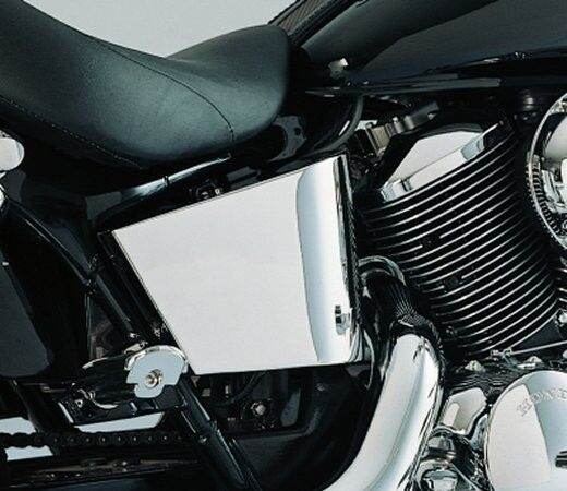 Chrome Steel Side Covers for Honda VT750 ACE 1998-2003 by ...