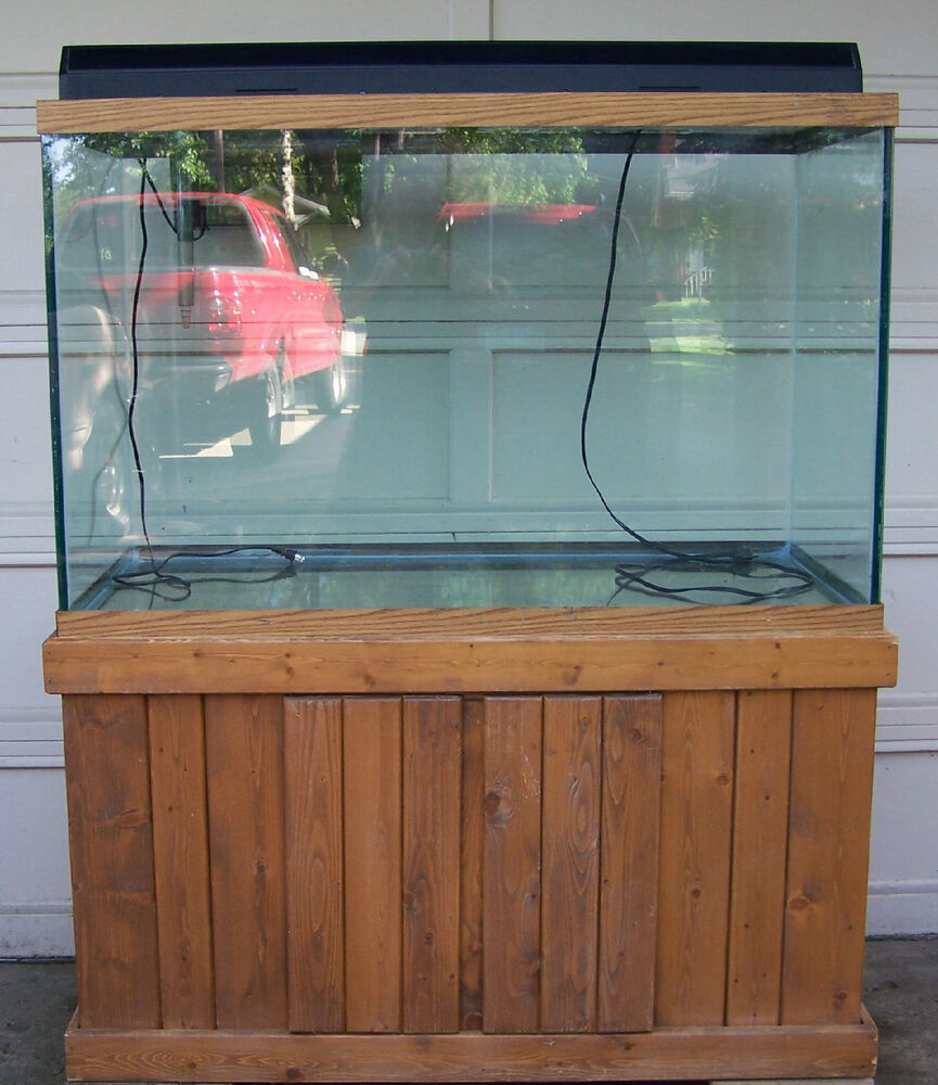 150 Gallon Tall Aquarium Fish Tank With Stand Light And