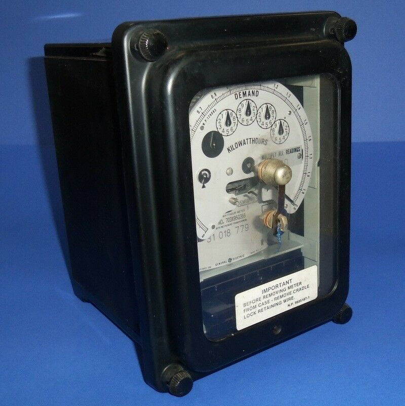 Ge Watthour Meter : General electric stator watt hour meter dsmw