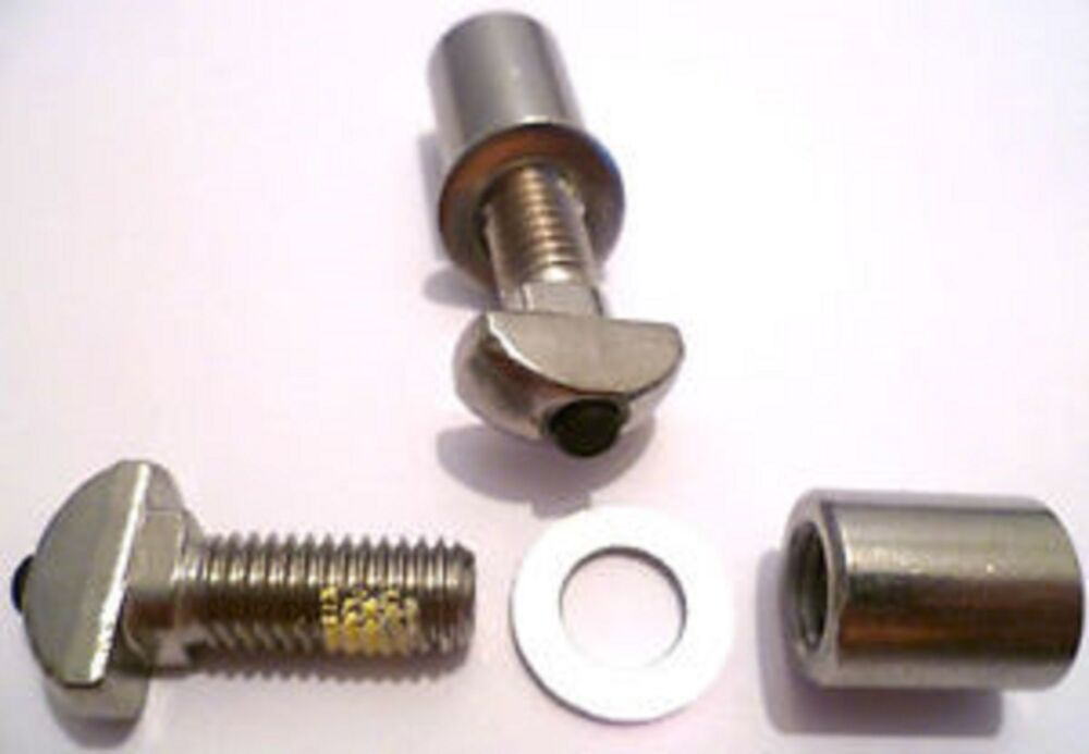 Solar Panel Mid Rail Fixing Clamps Stainless Steel Nut