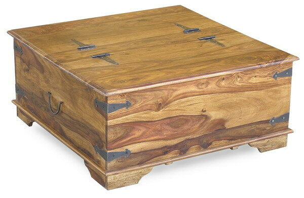 Jali sheesham wood box trunk chest coffee table real indian rosewood ebay Indian trunk coffee table