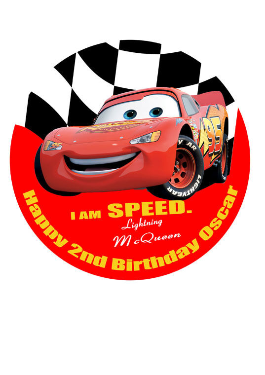 Lightning Mcqueen Cake Decorations Uk Dmost for