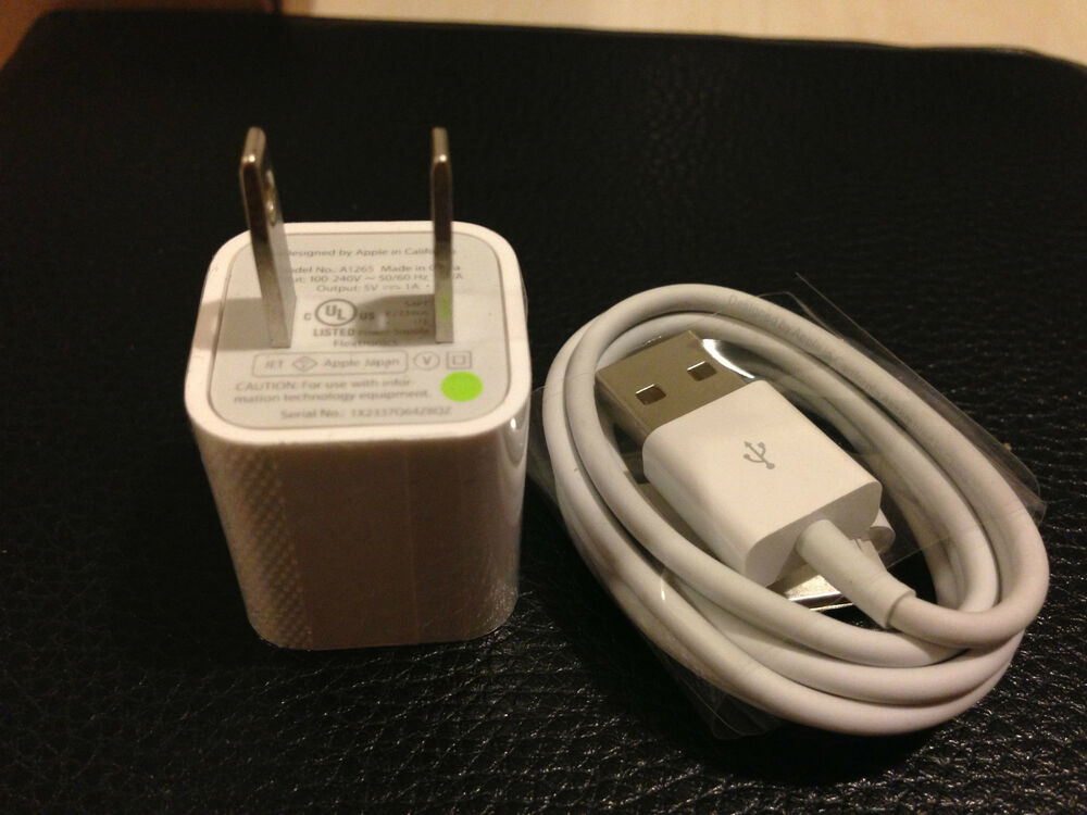 iphone wall charger new original oem apple 2g 3g 3gs 4 4g 4s iphone wall 12456