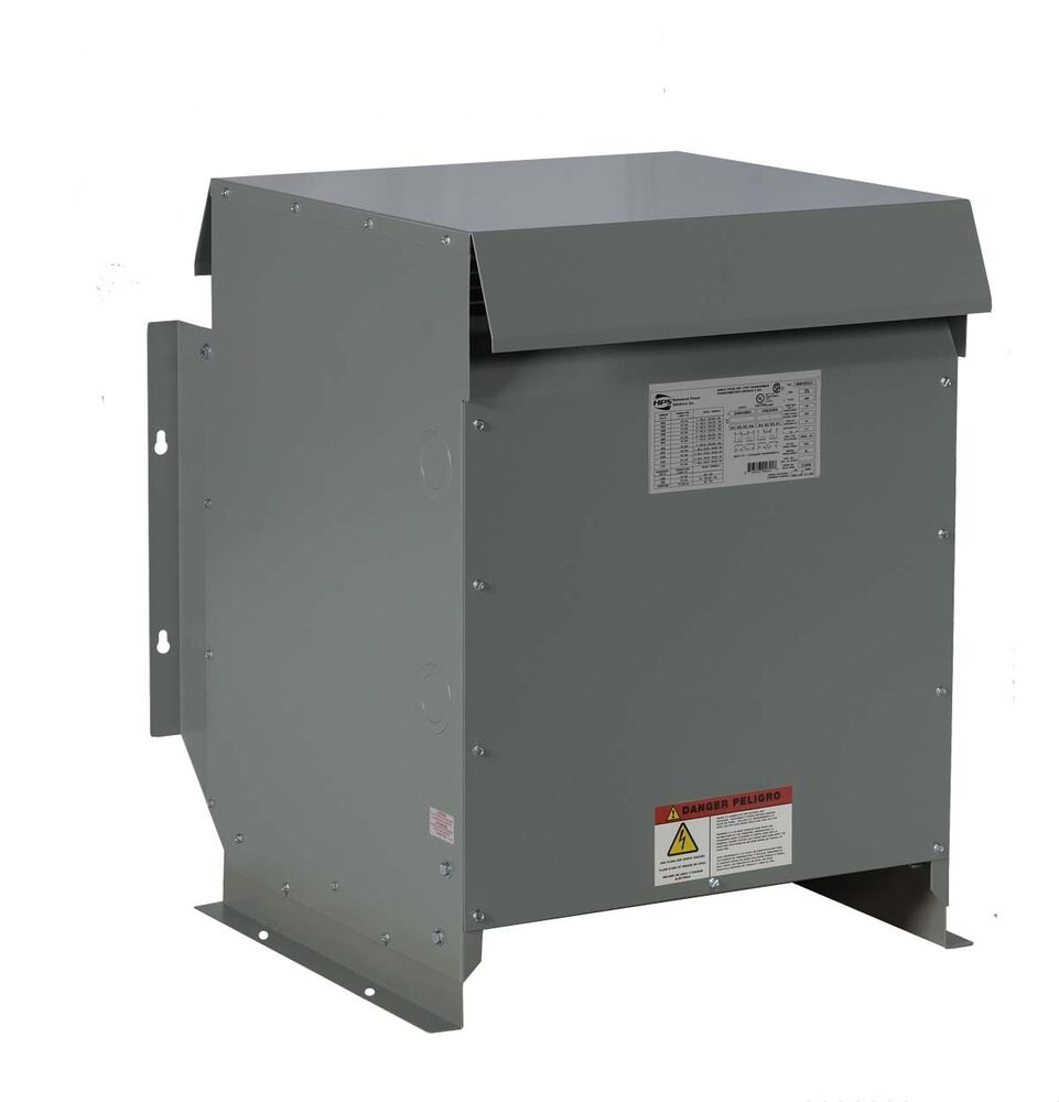 s l1000 45kva dry type transformer 480 240 volt, 3 phase new, nema 3r 480 Volt Transformer Wiring Diagram at suagrazia.org