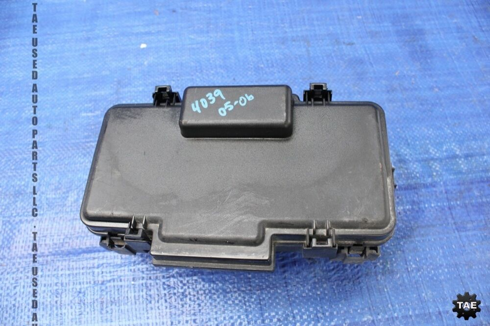 05-06 acura rsx type s oem factory ipdm junction fuse box dc5 k20z1 prb #4039 | ebay 2004 acura rsx fuse box diagrams 06 acura rsx fuse box #4