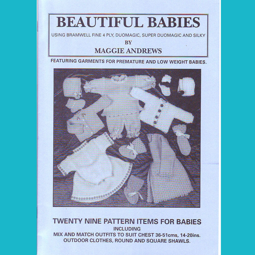 Knitting Pattern Book : KNITTING MACHINE PATTERN BOOK ONLY BEAUTIFUL BABIES, BROTHER, KNITMASTER SILV...